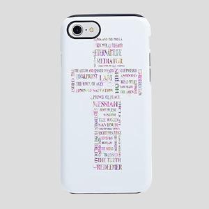 jesus cross 14 iPhone 7 Tough Case