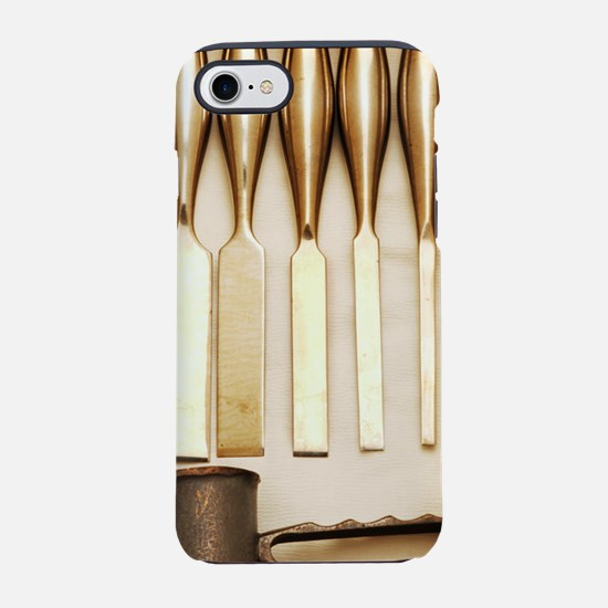 Orthopedic chisels and mallet iPhone 7 Tough Case