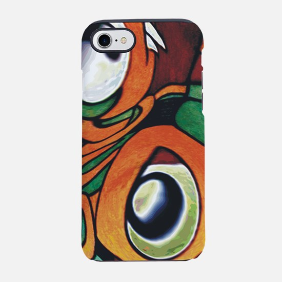 mayan eyes iphone.jpg iPhone 7 Tough Case