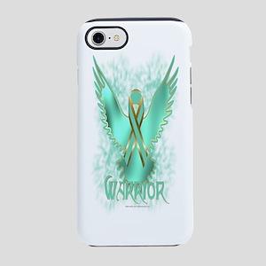 Ovarian Cancer Eagle iPhone 7 Tough Case