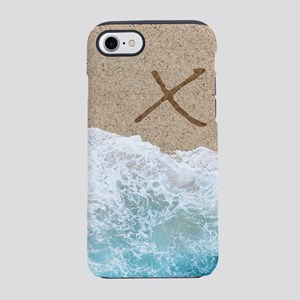 LETTERS IN SAND X iPhone 7 Tough Case