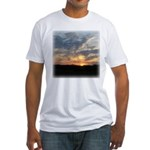 Sunrise 0057 Fitted T-Shirt