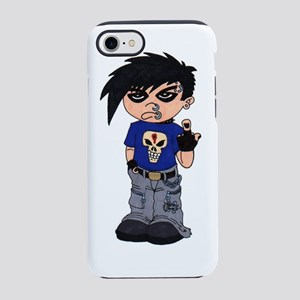 Goth Boy Attitude iPhone 7 Tough Case