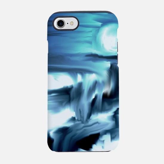 Moon Blue iPhone 7 Tough Case