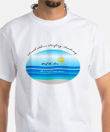 South Shore Surfing Academy White T-Shirt