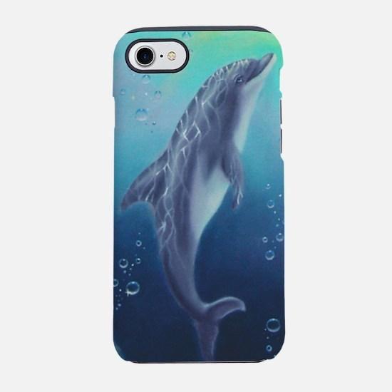 Hawaiian Dolphin iPhone 7 Tough Case