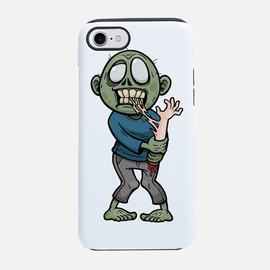 Zombie eating arm  iPhone 7 Tough Case