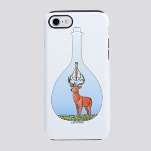 Red Stag with Sword iPhone 7 Tough Case