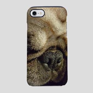 Pugsley the Pug sleepy time iPhone 7 Tough Case