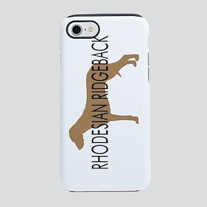 rhodesian ridgeback text nb.jp iPhone 7 Tough Case