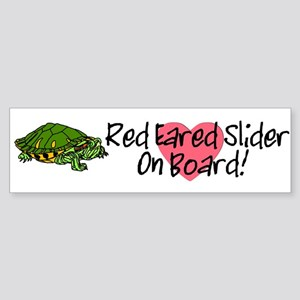 RES On Board Bumper Sticker (white)