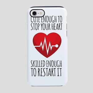 Stop Heart iPhone 7 Tough Case
