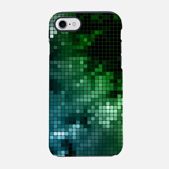 Mosaic Green (3G).png iPhone 7 Tough Case