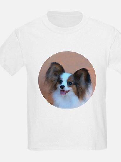 Sable Papillon Head Kids T-Shirt