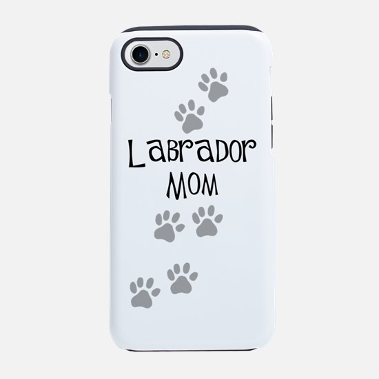 labrador mom.png iPhone 7 Tough Case