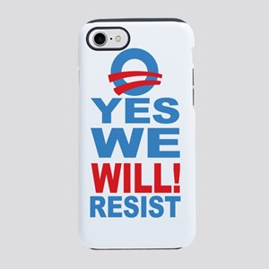 O YES RESIST 2 iPhone 7 Tough Case
