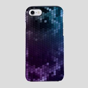 Purple Mosaic (3G) iPhone 7 Tough Case