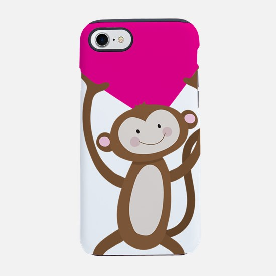Monkey Heart iPhone 7 Tough Case