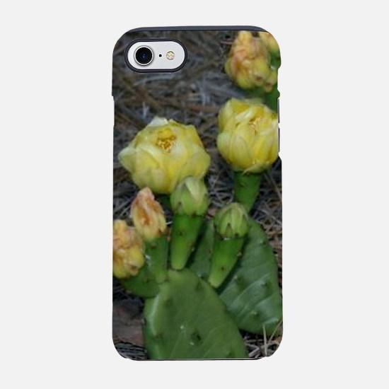 2-CACTUS FLOWERS CAMCORDER.jpg iPhone 7 Tough Case