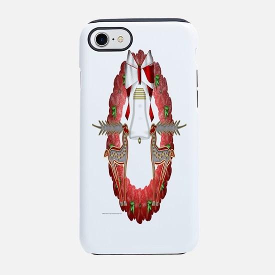 Reindeer Wreath iPhone 7 Tough Case