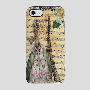marie antoinette paris eiffel  iPhone 7 Tough Case
