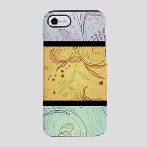 3 Color Paisley (3G) iPhone 7 Tough Case