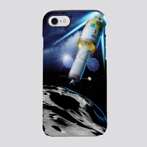 Asteroid gravitational tractor iPhone 7 Tough Case