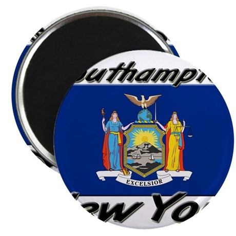 "Southampton New York 2.25"" Magnet (10 pack)"