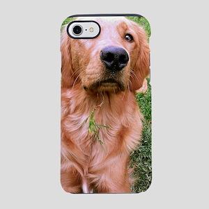 Golden eats grass iPhone 7 Tough Case