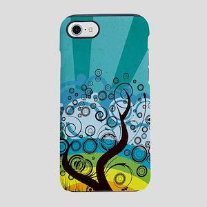 Tree Rainbow (3G) iPhone 7 Tough Case