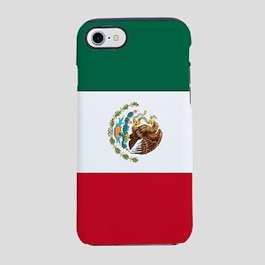 Mexico Flag iPhone 7 Tough Case