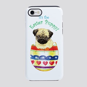 Pug easter iPhone 7 Tough Case