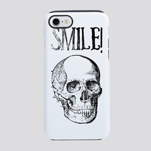 Smile! Skull smiling iPhone 7 Tough Case