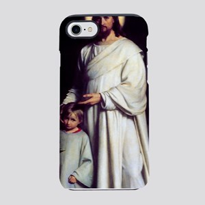 Jesus and the Child by Carl Bl iPhone 7 Tough Case