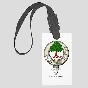 Anderson Clan Badge Luggage Tag