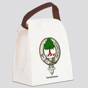 Anderson Clan Badge Canvas Lunch Bag