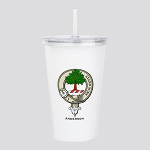 Anderson Clan Badge Acrylic Double-wall Tumbler