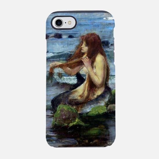 A Mermaid (study).jpg iPhone 7 Tough Case