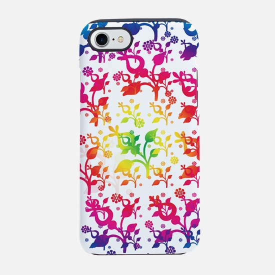 Floral mix iPhone 7 Tough Case