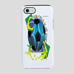 Bottle_BrazilKickinIt iPhone 7 Tough Case
