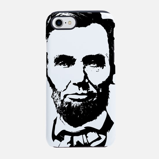 Abe Lincoln Silhouette iPhone 7 Tough Case