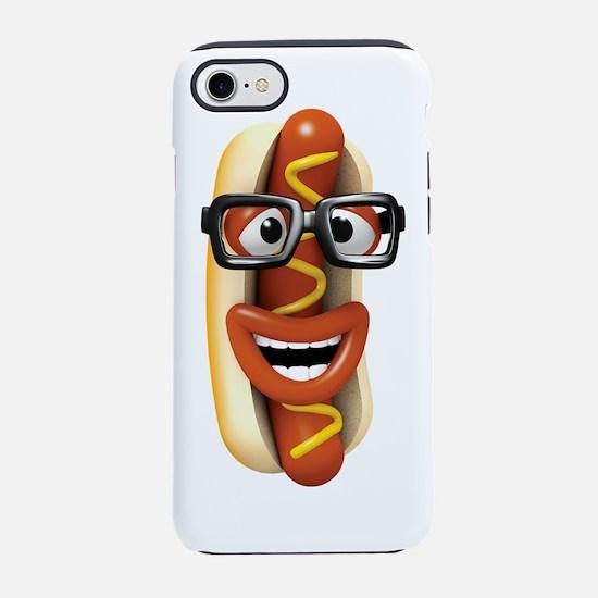 3d-hotdog-glasses.png iPhone 7 Tough Case