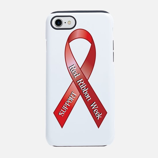 Support Red Ribbon Week iPhone 7 Tough Case