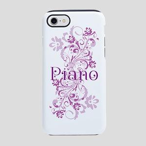 PIANO SWIRL iPhone 7 Tough Case