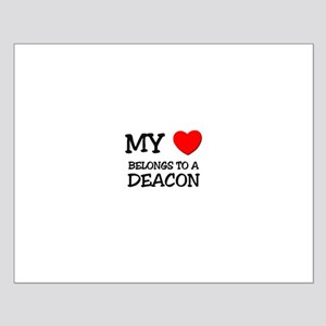My Heart Belongs To A DEACON Small Poster