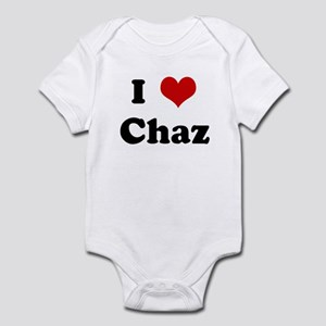 I Love Chaz Infant Bodysuit
