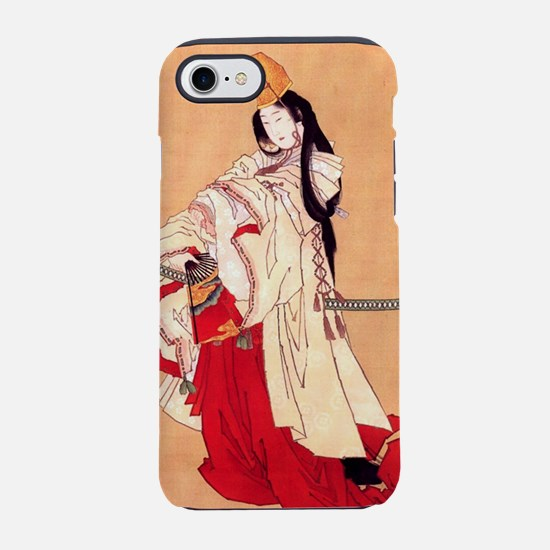 Shirabyoshi dancer.square.p2.j iPhone 7 Tough Case