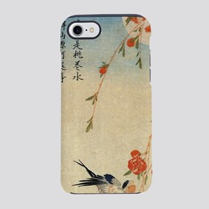 Swallow and peach flowers.trav iPhone 7 Tough Case
