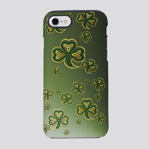 iPod Touch Gold and Green Sham iPhone 7 Tough Case