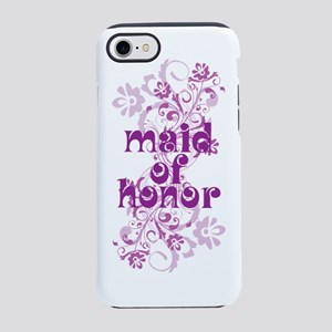 maid of honor Sigg swirl iPhone 7 Tough Case